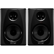 Behringer STUDIO 50USB High-Resolution, 150-Watt Bi-Amped Reference Studio Monitors with USB Input