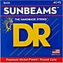 DR Strings SUNBEAM  Nickel Plated Bass Strings Lite (40-95)