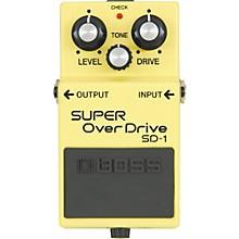 Open BoxBoss SUPER OverDrive SD-1 Pedal