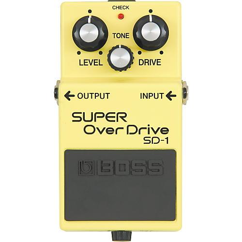 Boss SUPER OverDrive SD-1 Pedal