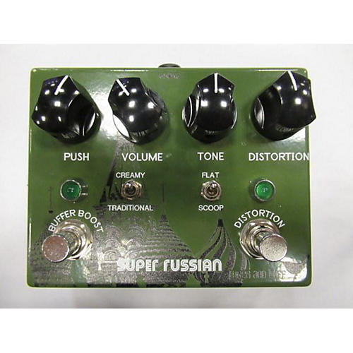 SUPER RUSSIAN Effect Pedal