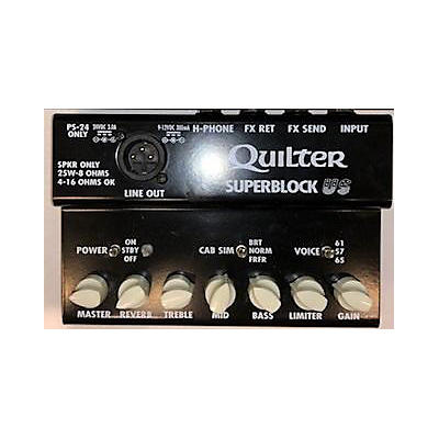 Quilter Labs SUPERBLOCK US Solid State Guitar Amp Head