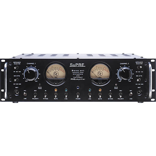 Groove Tubes SUPRE Stereo Tube Microphone Preamplifier