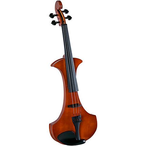 Cremona SV-180E Premier Student Electric Violin Outfit 4/4 Violin Brown
