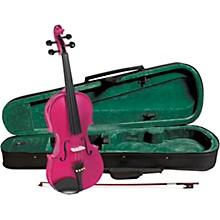 Open BoxCremona SV-75RS Premier Novice Series Sparkling Rose Violin Outfit