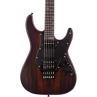 Schecter Guitar Research SVSS Exotic Ziricote 6-String Electric Guitar