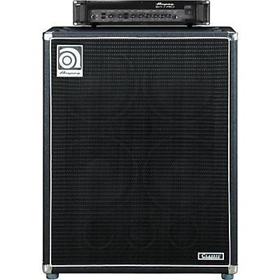 Ampeg SVT-7PRO Head and SVT-410HLF Cabinet Bass Stack