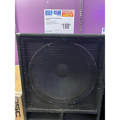 Yamaha SW118IV Unpowered Speaker