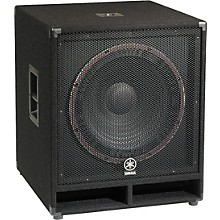 Open Box Yamaha SW118V Club Series V Subwoofer