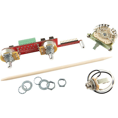 ToneShaper SW5C 5-Way Switch and Knobs for Telecaster with Bridge Single Coil and Neck Humbucker