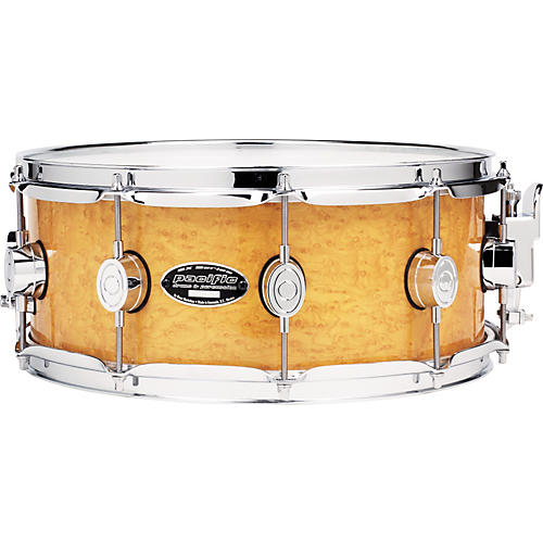 PDP by DW SXE Exotic Amber Birdseye Maple Snare