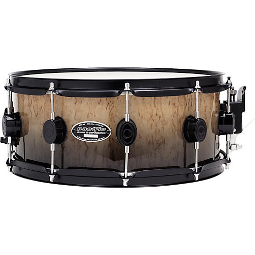 PDP by DW SXE Exotic Kurillian Birch Snare With Black Hardware