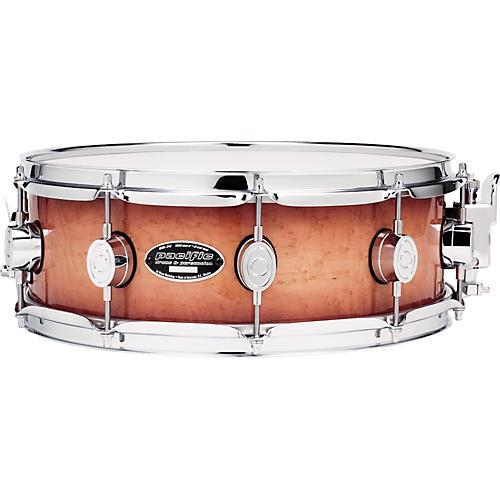 PDP by DW SXE Exotic Tobacco Burst Birdseye Maple Snare