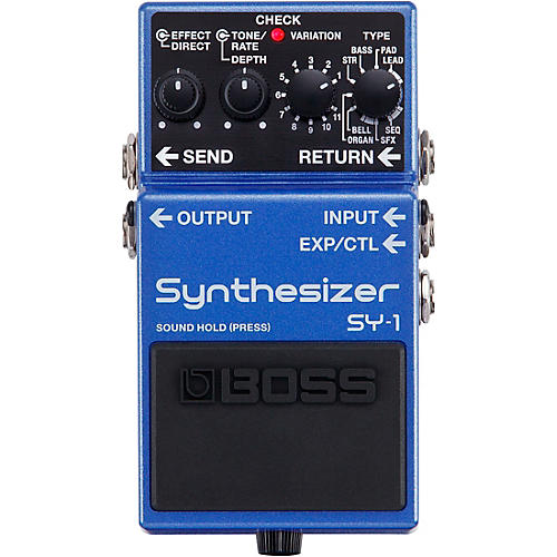 Boss SY-1 Synthesizer Effects Pedal
