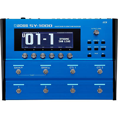 Boss SY-1000 Guitar Synthesizer and Multi-Effects Processor