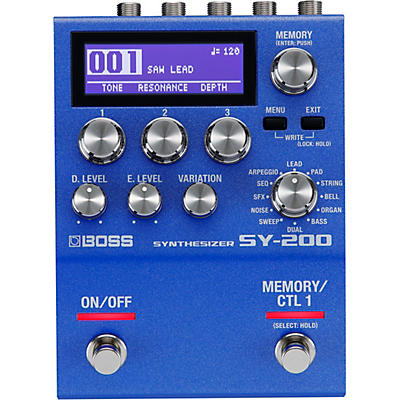 BOSS SY-200 Synthesizer Effects Pedal