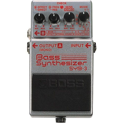 Boss SYB-3 Bass Synth Pedal