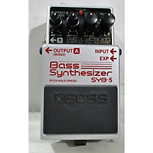 Boss SYB5 Bass Synth Bass Effect Pedal