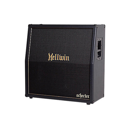 Schecter Guitar Research SYN412-SL Hellwin USA 4x12 Slant Guitar Speaker Cabinet