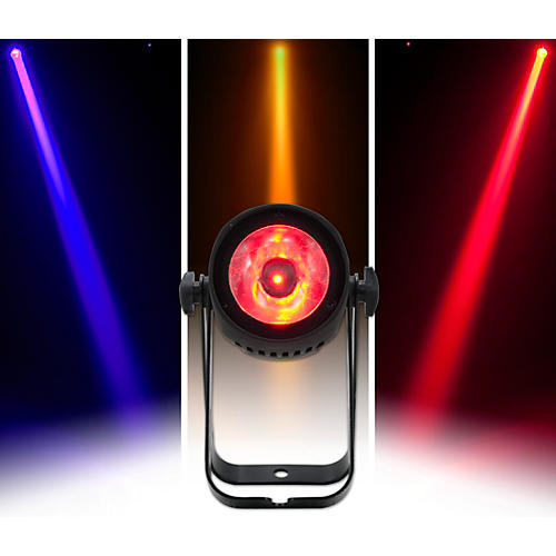 American DJ Saber Spot RGBW 15W LED Compact Pinspot Beam Light