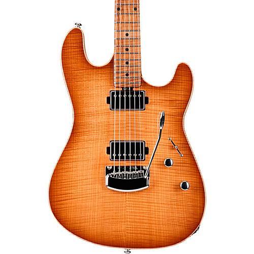 Ernie Ball Music Man Sabre HH Maple Fingerboard Electric Guitar Honey Suckle