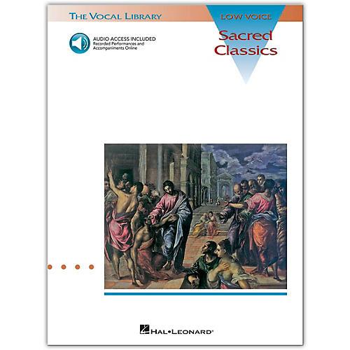 Hal Leonard Sacred Classics for Low Voice (Book/Online Audio)