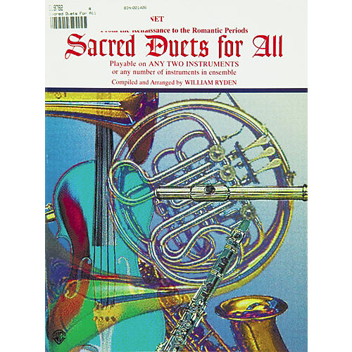 Alfred Sacred Duets for All B-Flat Clarinet & Bass Clarinet