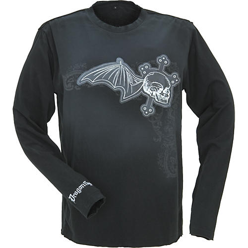 Dragonfly Clothing Sacred Skull Long-Sleeve T-Shirt