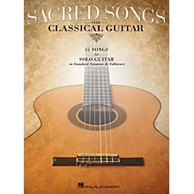 Hal Leonard Sacred Songs For Classical Guitar (Standard Notation & Tab) Songbook