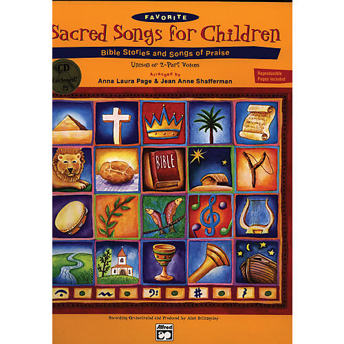 Alfred Sacred Songs for Children Book/CD