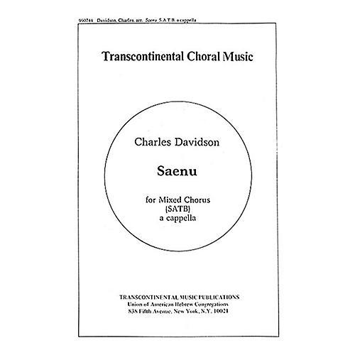 Hal Leonard Saenu (Listen To The Bells) SATB arranged by Charles Davidson