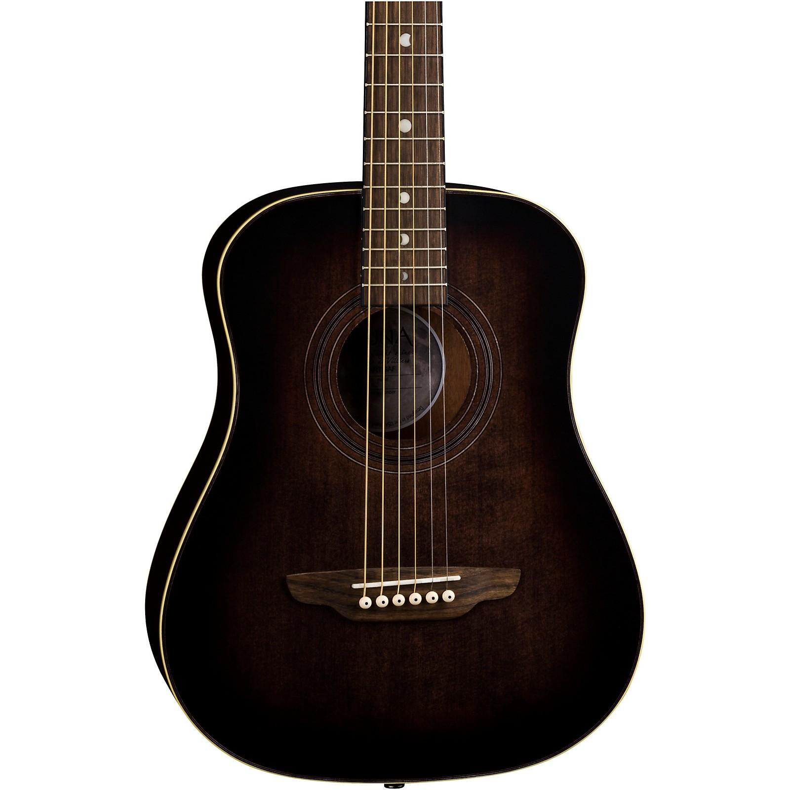 Luna Guitars Safari Artist Vintage Travel Acoustic Guitar