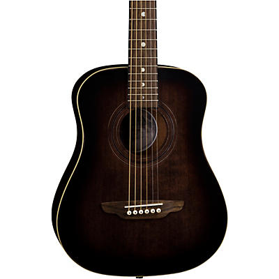 Luna Guitars Safari Artist Vintage Travel Acoustic Guitar