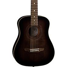 Open BoxLuna Guitars Safari Artist Vintage Travel Acoustic Guitar