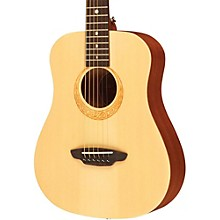 Luna Guitars Safari Muse Spruce 3/4 Size Travel Acoustic Guitar Package