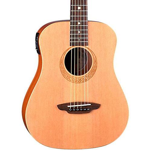 Luna Guitars Safari Muse Spruce Travel Acoustic-Electric Guitar