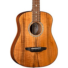 Luna Guitars Safari Solid Koa Top 3/4 Size Acoustic/Electric Guitar
