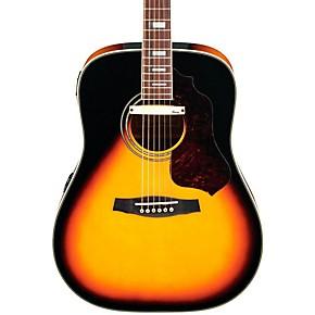 ibanez sage series sge220vs dreadnought acoustic electric guitar musician 39 s friend. Black Bedroom Furniture Sets. Home Design Ideas
