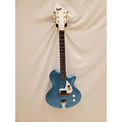 Supro Sahara Hollow Body Electric Guitar
