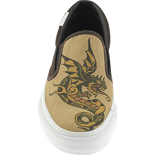 Converse Sailor Jerry Dragon Low-Top Slip-On Shoes