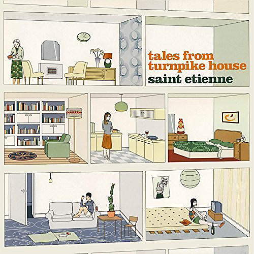 Alliance Saint Etienne - Tales From Turnpike House