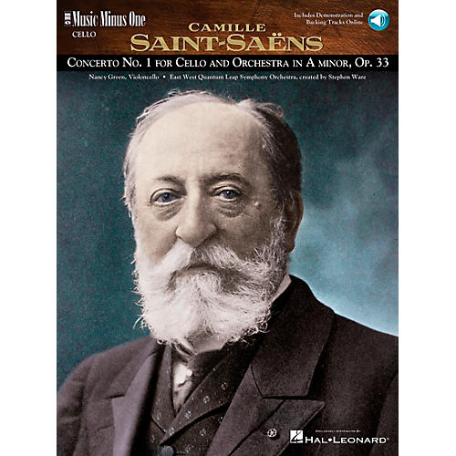 Music Minus One Saint-Saëns - Conc No. 1 for Violoncello and Orch in A min, Op. 33 Music Minus One BK/CD by Nancy Green