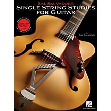 Hal Leonard Sal Salvador's Single String Studies for Guitar Guitar Book Series Softcover Written by Sal Salvador