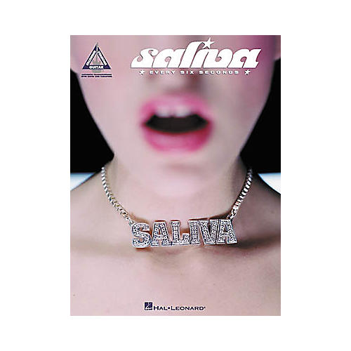 Hal Leonard Saliva - Every Six Seconds Guitar Tab Book