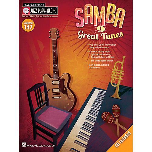 Hal Leonard Samba - Jazz Play-Along Volume 147 Book/CD