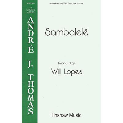 Hinshaw Music Sambalele SATB arranged by Will Lopes