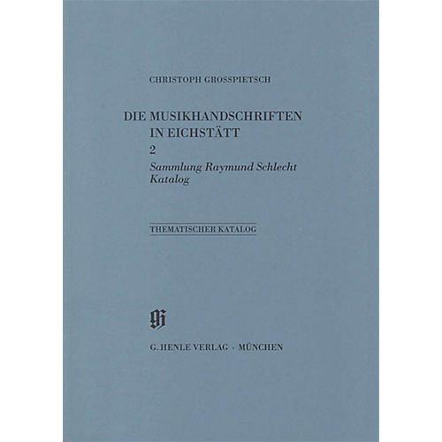 G. Henle Verlag Sammlung Raymond Schlecht, Katalog Henle Books Series Softcover