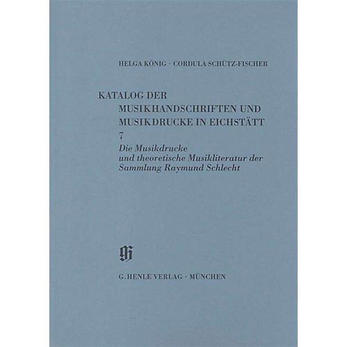 G. Henle Verlag Sammlung Raymund Schlecht, Musikdrucke u. theoretische Musikliteratur Henle Books Series Softcover
