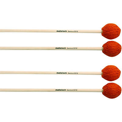 Malletech Sammut Marimba Mallets Set of 4 (2 Matched Pairs)