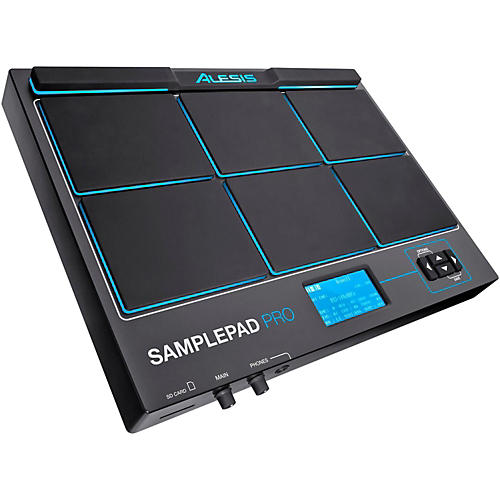 alesis sample pad pro percussion pad with onboard sound storage musician 39 s friend. Black Bedroom Furniture Sets. Home Design Ideas